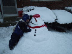 Our SILLY Snowman