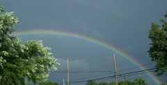 Beautiful Rainbow in Waverly NY