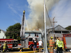 Fire on Crocker Ave, JC 9/10/11