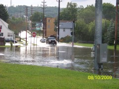Flash Flood in Endicott