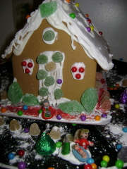 Gingerbread house 2008