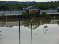 TJ Max in Vestal Flooded