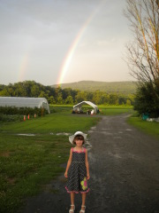 Double Rainbow at Titus Farm in Windsor