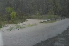 Chenango Forks Roads Flooded