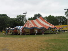 Tent Troupe at Highland Park July 5th