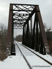 Silent Railroad Bridge in Norwich