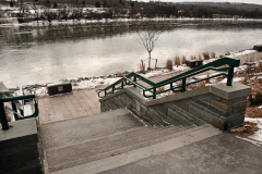 Owego's Riverwalk opened again