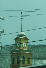 Firehouse clock in Owego