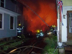 Multiple house fires in Village of Owego