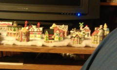 my christmas village